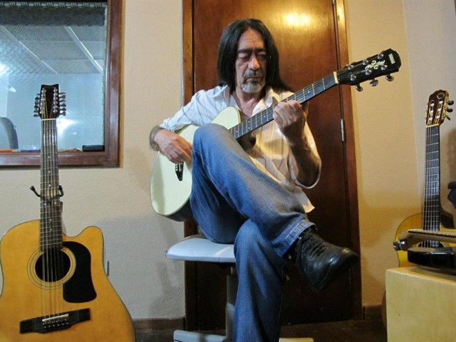 Omúsico e maestro  Romano Nunes, o Cabelo.   Arquivo pessoal/Reprodução Facebook