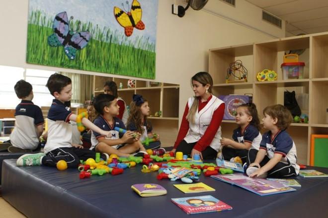 Em colégios particulares, como oDom Bosco, a avaliação costuma ser feita em sala de aula pelos professores | Aniele Nascimento/ Gazeta do Povo