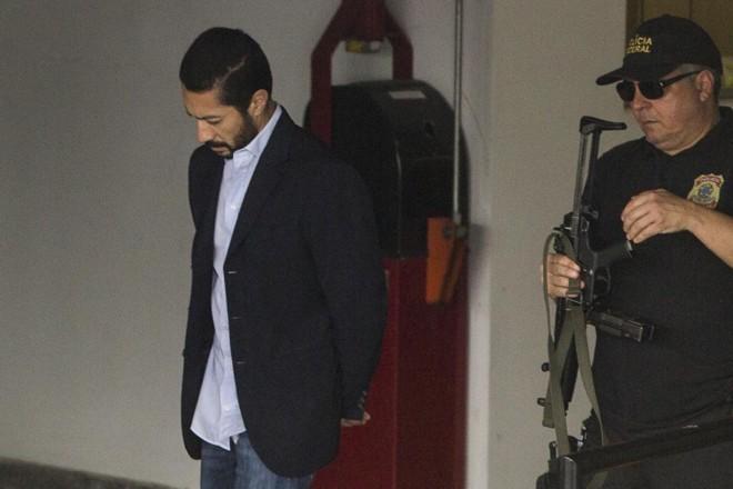 Fernando Baiano está preso em Curitiba desde novembro   Marcelo Andrade/Gazeta do Povo