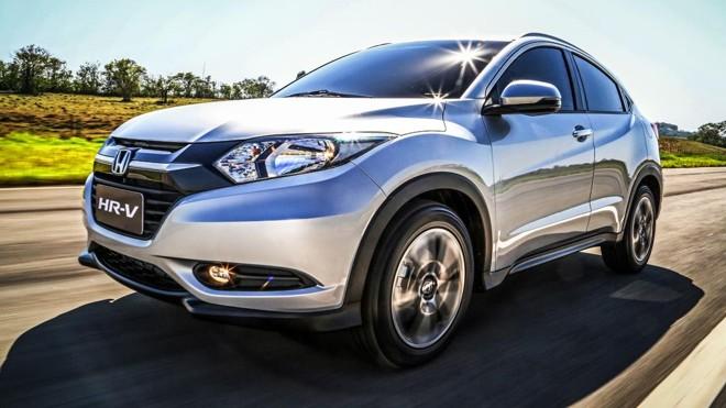 HR-V terá três versões com freio de estacionamento eletrônico e controle de estabilidade de série.   Fotos: Divulgação/Honda