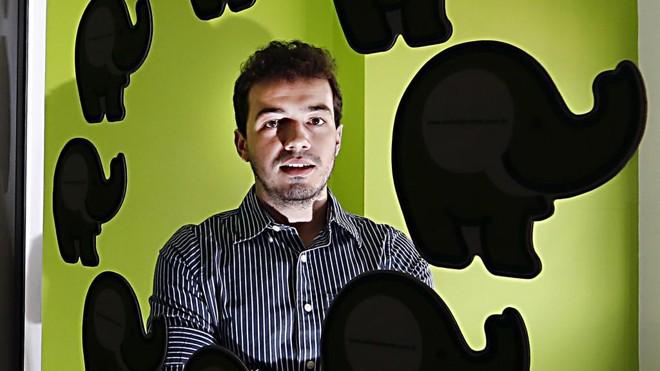 Igor Bomtempo, franqueado da Elefante Verde: segmento de comunicação cresceu 27% em 2014. | Albari Rosa/Gazeta do Povo