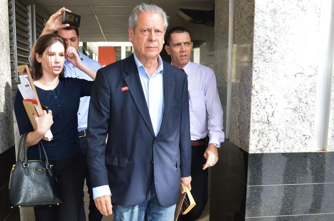 O ex-ministro e a JD são investigados por lavagem de dinheiro, ocultação de bens e corrupção. Dirceu teria prestado consultoria para empresas de 20 setores da economia | Fabio Rodrigues Pozzebom/Agência Brasi