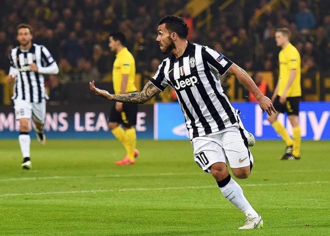 Tévez foi o melhor em campo na vitória da Juventus. | BERND THISSEN/EFE