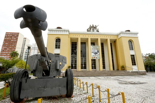 Fachada do  Museu do Expedicionário, em  Curitiba | Hugo Harada/Gazeta do Povo