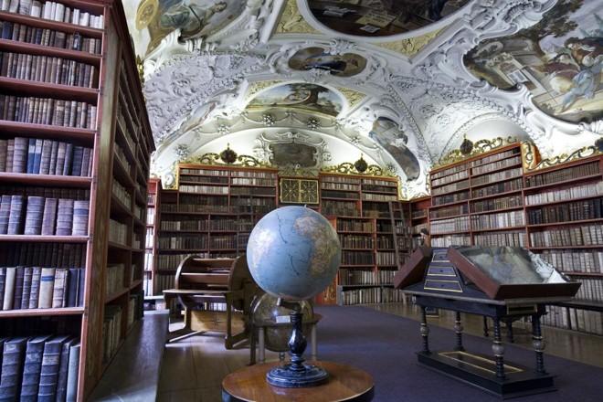 Biblioteca do Monastério Strahov | Jorge Royan/Wikimedia Commons