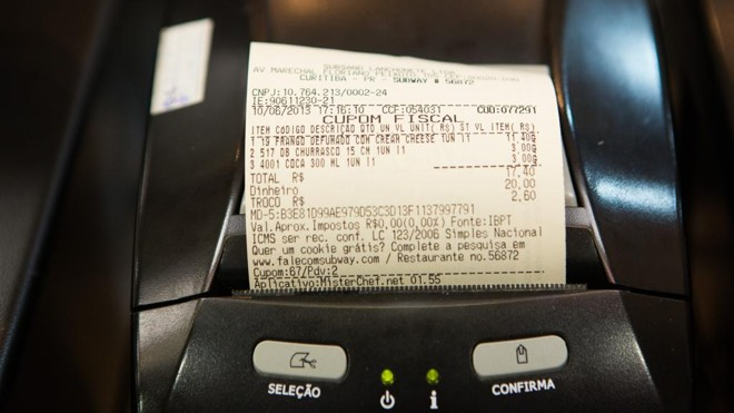 Consumidor deverá informar o número do CPF no ato da compra. | Brunno Covello/Gazeta do Povo