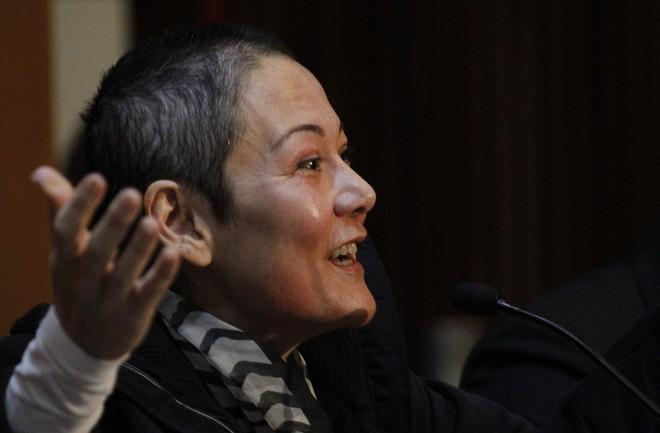 Nelma Kodama cantou, revelou a vida íntima e negou ter carregado dinheiro na calcinha. | Jonathan Campos/Gazeta do Povo