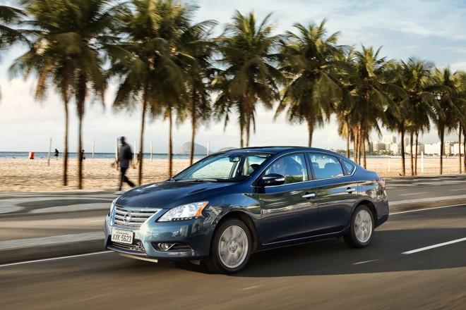 O novo Sentra  recebeu  nota 4,5 em um total de 5. | Nissan/Divulgação