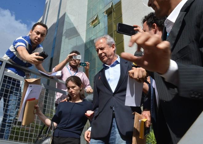 Dirceu: com seu afastamento da direção do PT, partido passou a ser comandado pelo segundo escalão, sem experiência política. | Fabio Rodrigues Pozzebom/Agência Brasil
