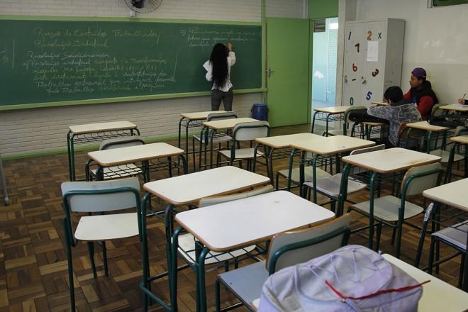 Na visão do Conselho Estadual de Educação, sexta aula pode ser usada para repor o calendário | Jonathan Campos/Gazeta do Povo