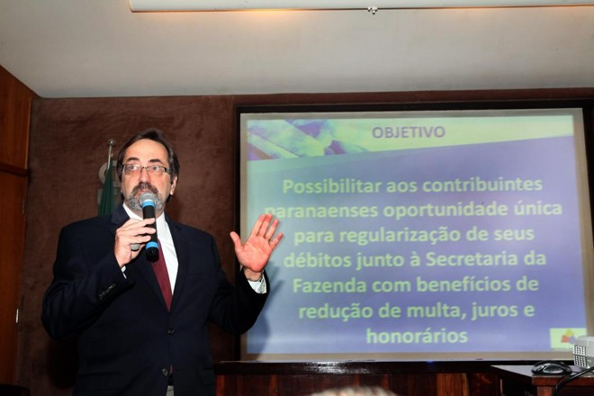 Programa foi apresentado nesta segunda-feira (20) pelo diretor geral da Secretaria da Fazenda, George Tornin   Julio César da Costa Souza/Sefa