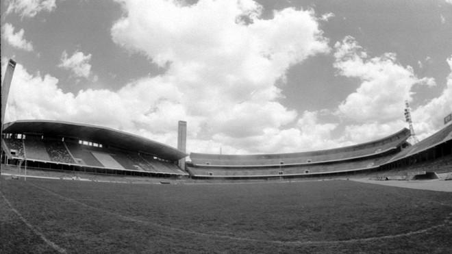 O Estádio Couto Pereira, casa do Coritiba campeão brasileiro de 1985. | Rubens Vandressen/Gazeta do Povo