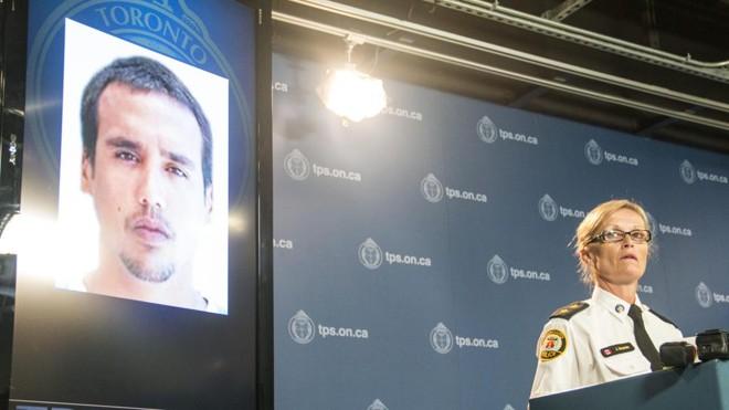 A inspetora Joanna Breaven-Desjardins diz que Thyê estava acompanhado de outra pessoa, que não participou do abuso de uma mulher de 22 anos. | Julio Cesar Rivas/EFE