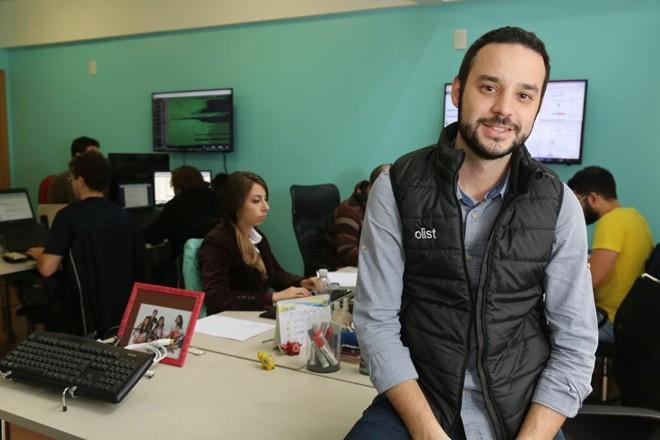 Tiago Dalvi, da Olist, conecta grandes e pequenos do varejo | Ivonaldo Alexandre/Gazeta do Povo