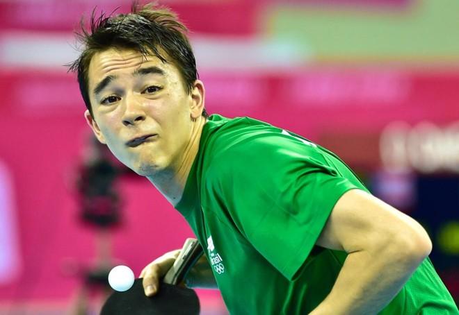 Hugo Calderano ficou com o ouro na disputa do tênis de mesa no Pan de Toronto. | Wander Roberto//Inovafoto/COB