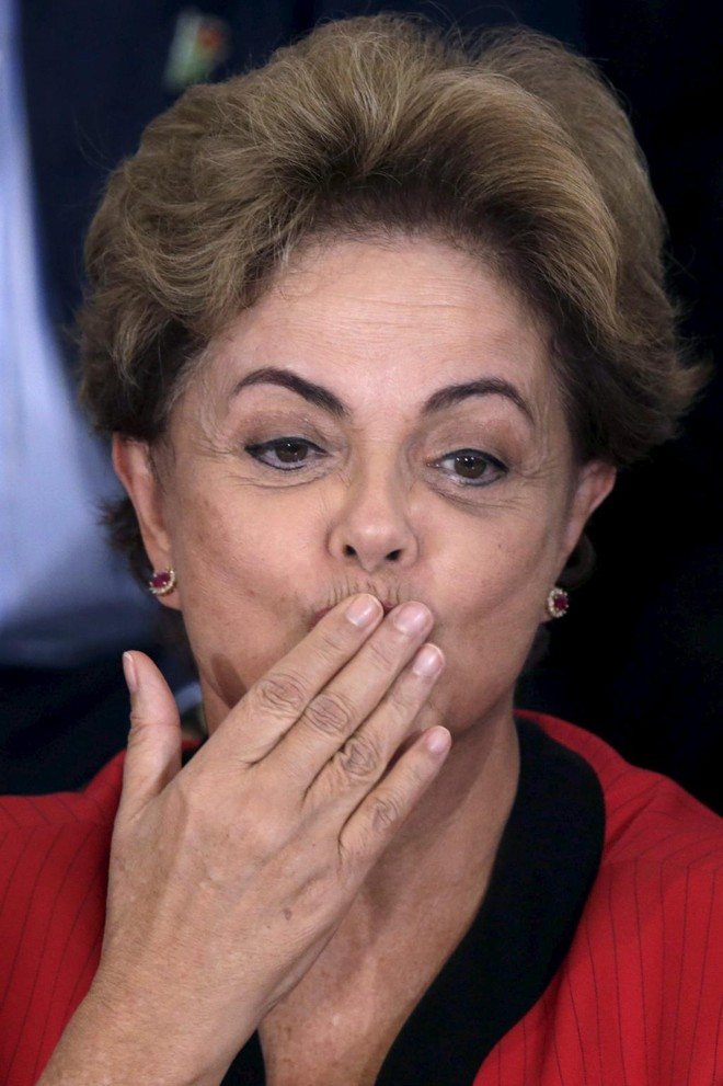 Dilma: crise política. | UESLEI MARCELINO/REUTERS