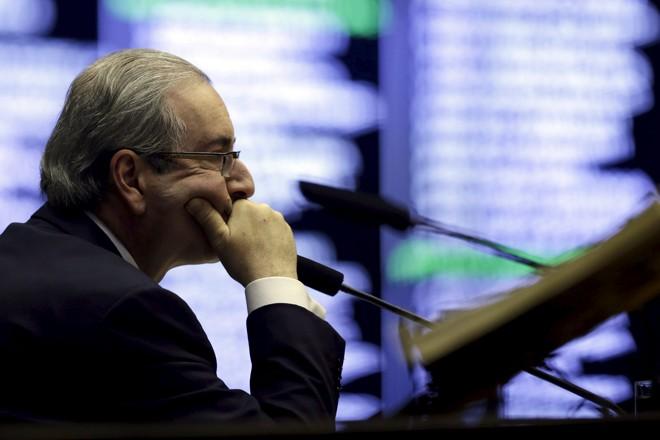 Eduardo Cunha, presidente da Câmara. | UESLEI MARCELINO/REUTERS
