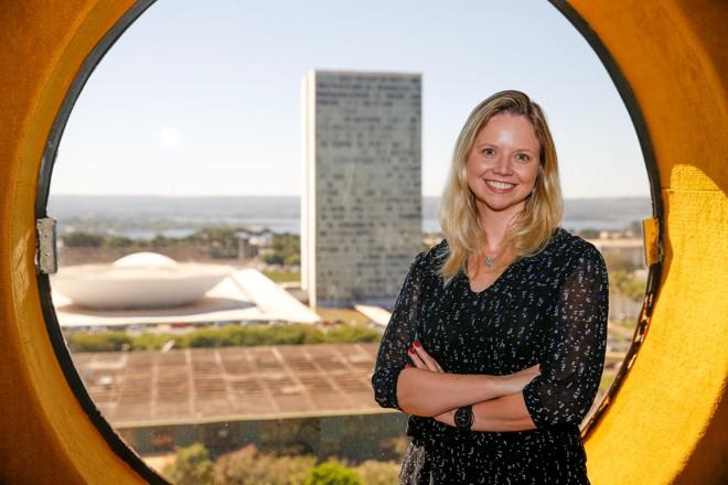 Danielle Cunha: desembolsaram R$ 102,6 mil da cota parlamentar a que têm direito para a publicitária. | Pedro Ladeira/Folhapress
