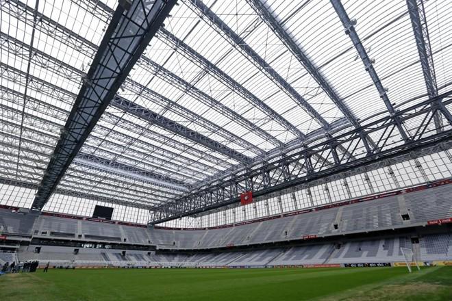 Atlético pagou apenas três parcelas do financiamento para a reforma da Arena. | Antônio More/Gazeta do Povo