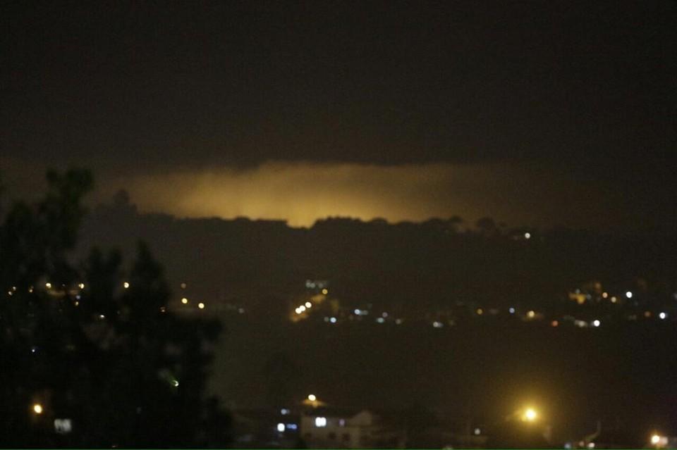 Incêndio atinge Morro do Anhangava