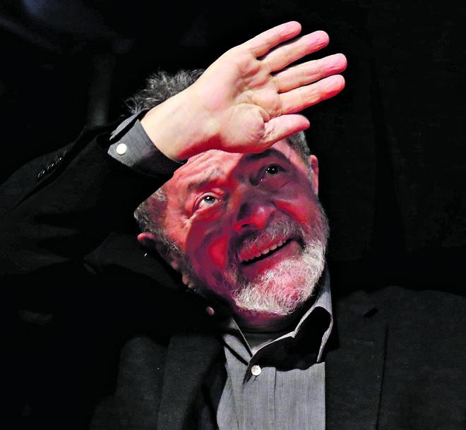 Grampo da Polícia Federal era para investigar Alexandrino Alencar, e não o ex-presidente Lula. | Ueslei Marcelino/Reuters