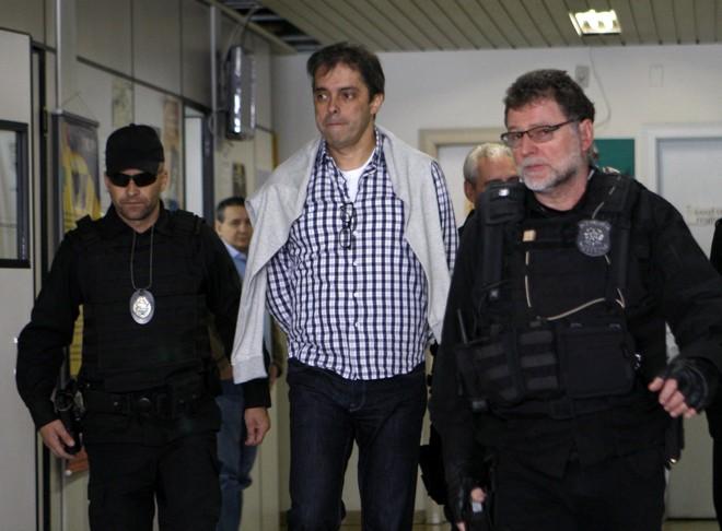 O empresário Flavio Barra é um dos que devem ser transferidos para o Complexo Médico Penal. | Aniele Nascimento/Gazeta do Povo