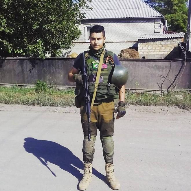 Luiz Davi diz  que pretende  entrar para a Polícia Militar em breve. | Arquivo pessoal