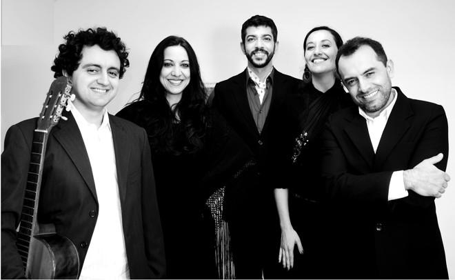 Sandro Tueros  está em cena interpretando poemas do escritor espanhol. | Divulgação