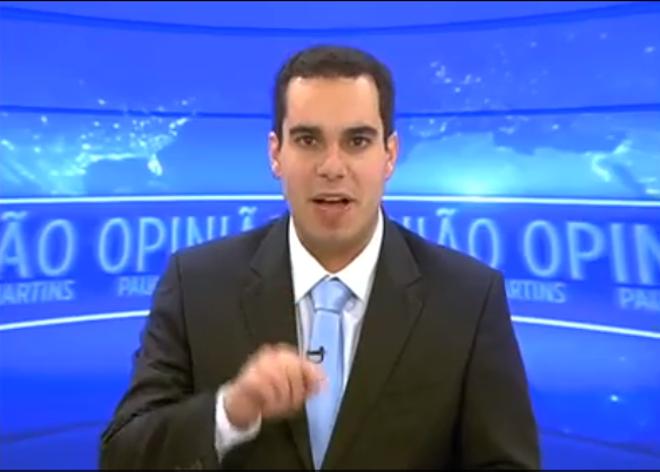 Representante do MBL em Curitiba, Paulo Martins é cotado para concorrer à prefeitura de Curitiba.   Reprodução