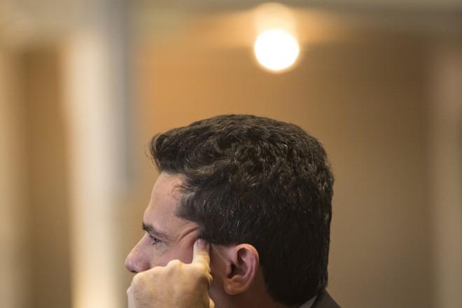 Juiz Sergio Moro voltou a defender a permanência da investigação no Paraná. | Marcelo Andrade/Gazeta do Povo