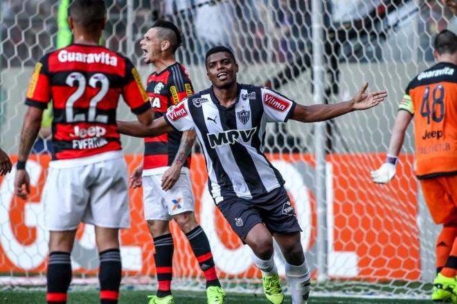 Jemerson fez dois gols na vitória do Galo. | Bruno Cantini/Atlético-MG