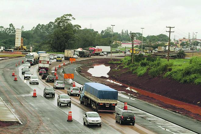 Trecho da PR-445, na região de Londrina, pode ser pedagiado. | Roberto Custódio /Jornal de Londrina
