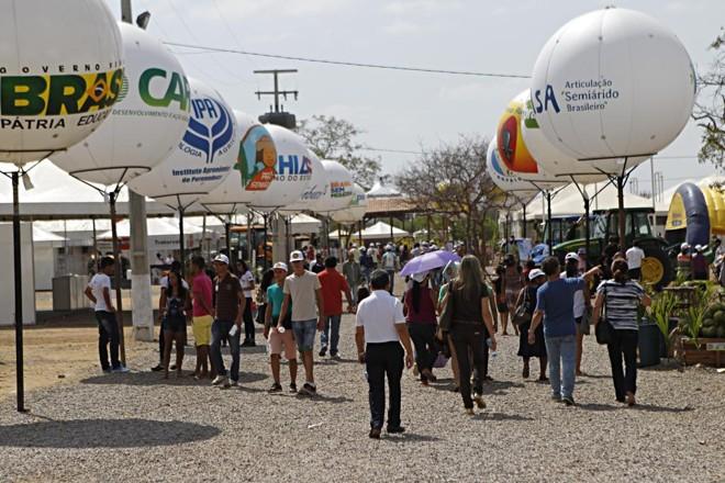 Feira reúne 10 mil pessoas por edição, maior público de um evento agrofamiliar entre os estados nordestinos. | Jonathan Campos/Gazeta do Povo