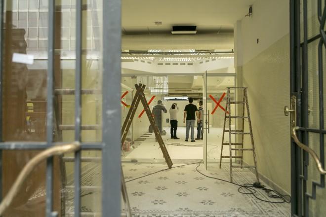 Espaço terá café e ambiente para exposições. | Marcelo Andrade/Gazeta do Povo