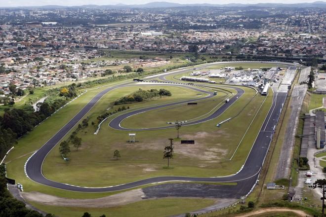 Vista área do Autódromo Internacional de Pinhais:560 mil metros quadrados. | Hedeson Alves/Gazeta do Povo