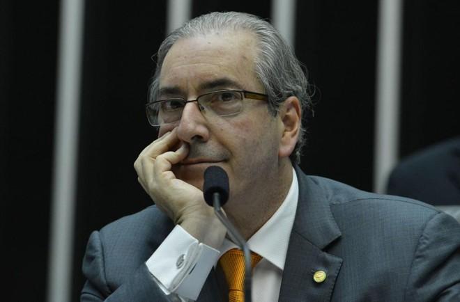 O nome e a assinatura de Cunha aparecem em vários documentos internos do banco, o que, para a PGR, comprova ser ele o verdadeiro beneficiário dos recursos. | Valter Campanato/Agência Brasil