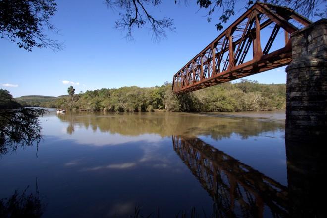 Bote inflável navegou pelo Iguaçu entre Curitiba e Porto Amazonas. | /Divulgação