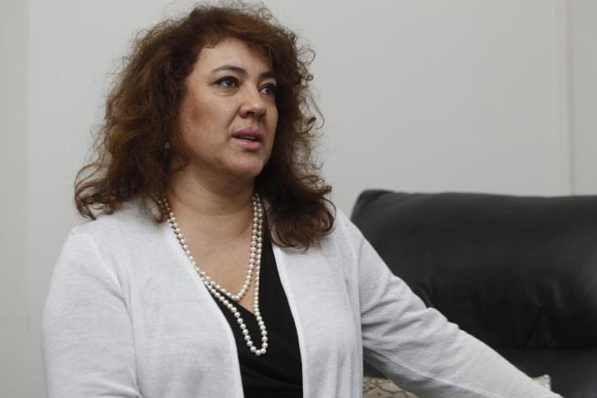 A deputada federal pelo PTNdeu entrevista na manhã desta sexta-feira (2) | Aniele Nascimento/Gazeta do Povo