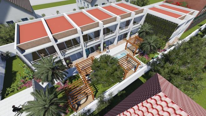 Projeto da Interage é conceito de baixo custo com 35 m2 em bloco estrutural | Divulgação/