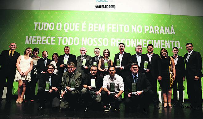 Os vencedores de 2014:quatro empresas buscam bicampeonato. | Hugo Harada/Gazeta do Povo