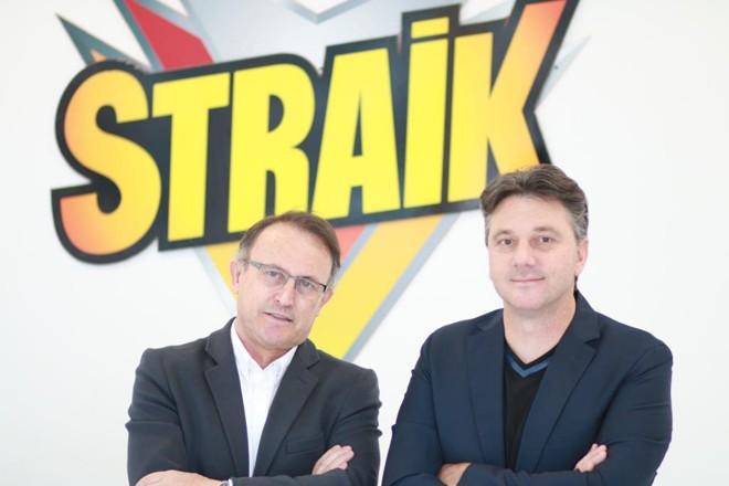 Milton Braida e Carlos Oleias, sócios da Dexter Latina: larvicida será o carro-chefe da indústria. | Divulgação
