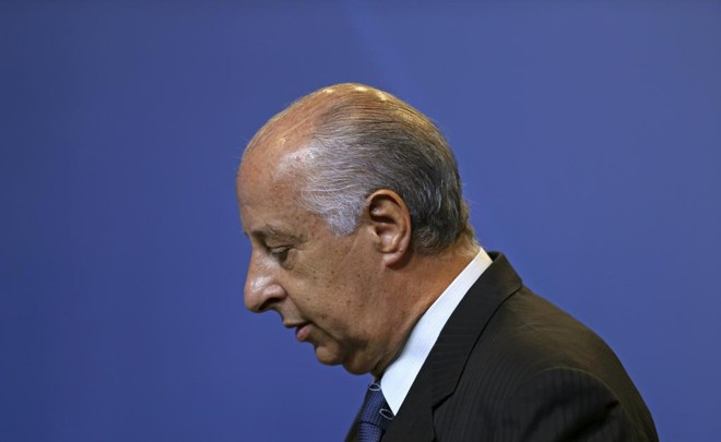 Marco Polo del Nero se desligou de cargo executivo na Fifa. | SERGIO MORAES/REUTERS