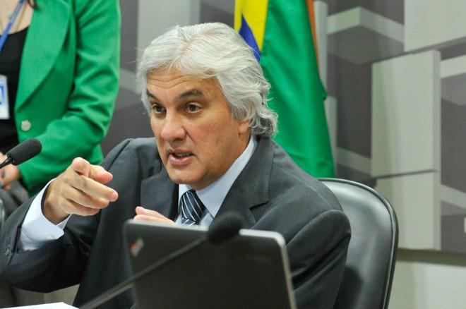 Delcídio Amaral é líder do governo Dilma Rousseff no Senado. | Geraldo Magela /Agência Senado