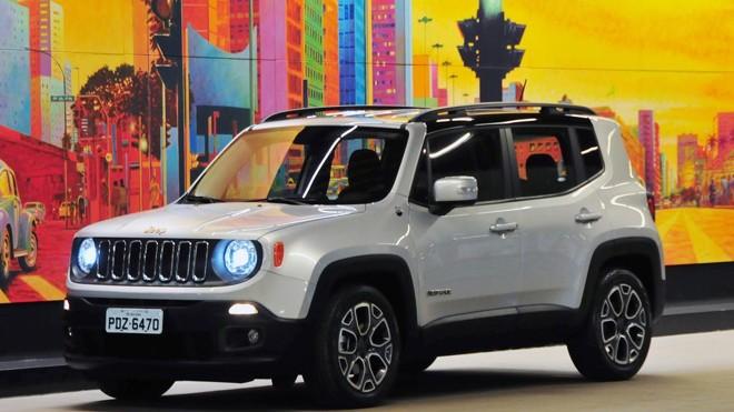 Renegade foi o 8.º carro mais vendido no país em novembro. | Jeep / Divulgação