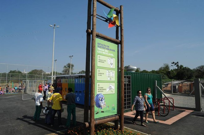 Estação da Vila Verde, na CIC, é semelhante a estrutura que será inaugurada no Sítio Cercado | Divulgação/Prefeitura de Curitiba
