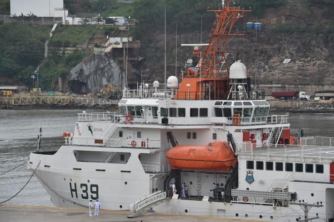 Navio hidroceanográfico  da Marinha usará robô para monitorar efeitos da lama no Rio Doce e no mar | Thiago Guimarães/Secom-ES