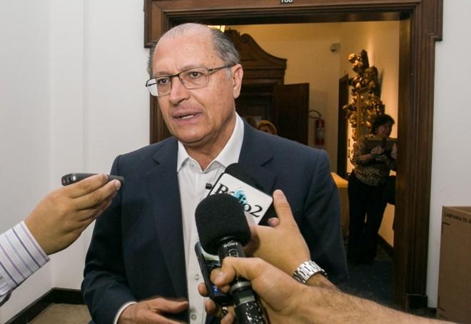 Geraldo Alckmin, governador de São Paulo: críticas indiretas ao PT. | Gilberto Marques/A2IMG