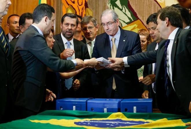 No início do mês, o peemedebista havia garantido que teria uma resposta formal em relação aos requerimentos protocolados até o final de novembro. | Pedro Ladeira/Folhapress