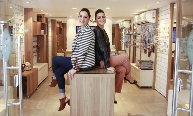Nova unidade será o terceiro negócio das  irmãs empresárias Francine Reis Franceschi e Francesnei Reis | Daniel Castellano/Gazeta do Povo