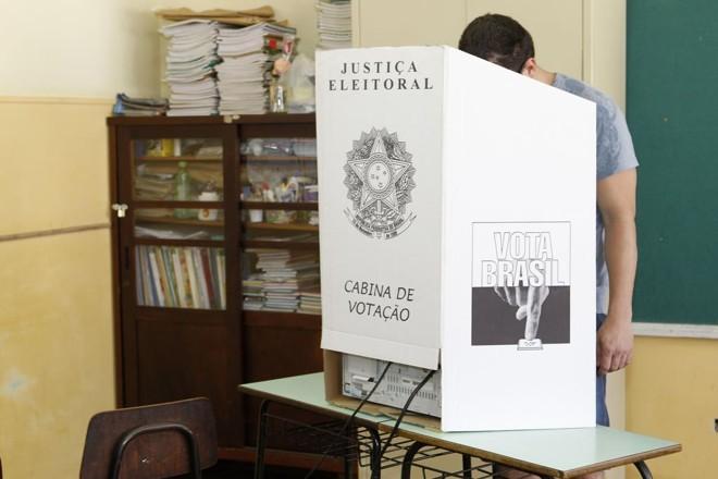 """Presidente do Tribunal Superior Eleitoral (TSE), o ministro Dias Toffoli classificou a mudança como """"retrocesso"""".   Antonio More/Gazeta do Povo"""